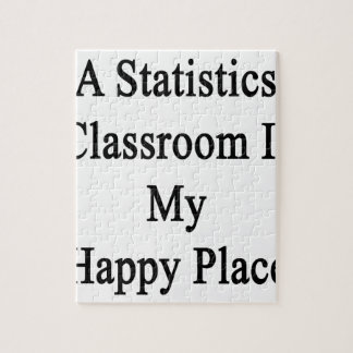 A Statistics Classroom Is My Happy Place Jigsaw Puzzle