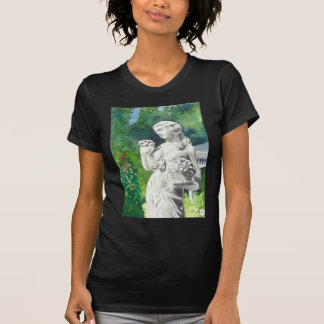 A STATUE AT WELLERS CARRIAGE HOUSE -2 T SHIRT