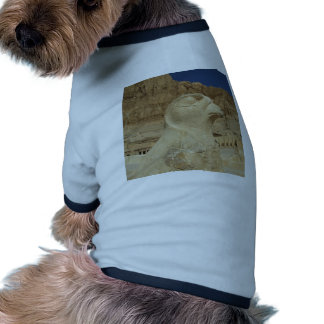 A statue of Horus as a falcon at Hatshepsut temple Doggie T Shirt