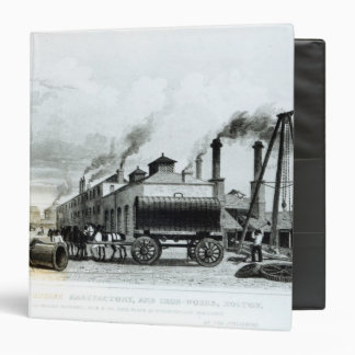 A Steam-Engine Manufactory and Iron Works Binder