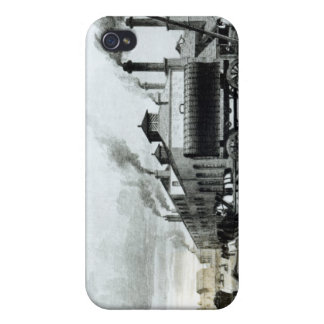 A Steam-Engine Manufactory and Iron Works iPhone 4 Cover