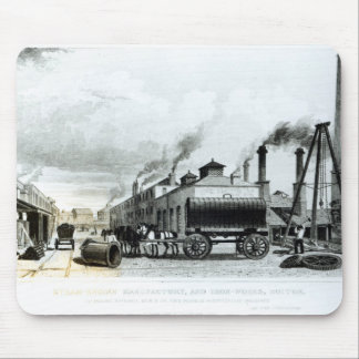 A Steam-Engine Manufactory and Iron Works Mouse Pad