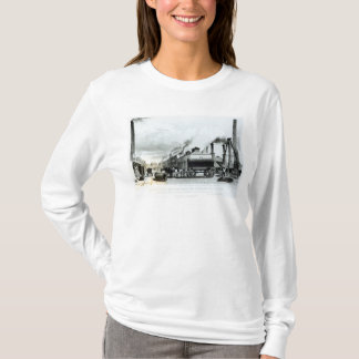 A Steam-Engine Manufactory and Iron Works T-Shirt