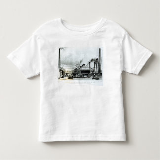 A Steam-Engine Manufactory and Iron Works Toddler T-shirt
