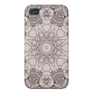 A Steampunk Mandala Diagram Case For iPhone 4