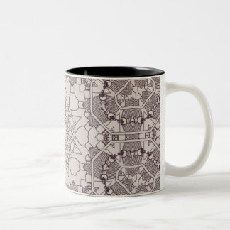 A Steampunk Mandala Diagram Coffee Mugs