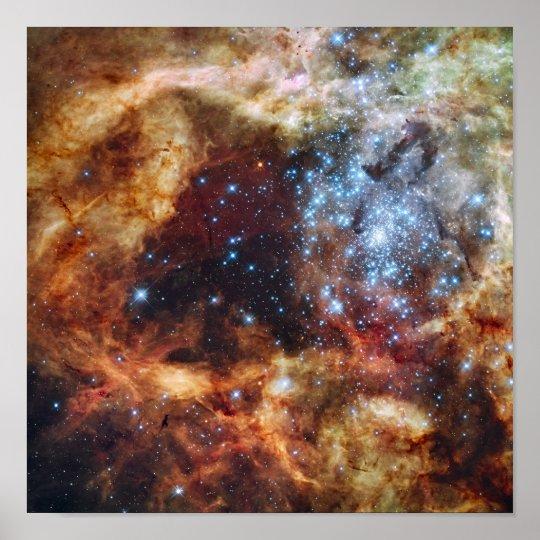 A stellar nursery known as R136 Poster