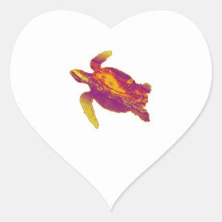 A STELLAR ONE HEART STICKER