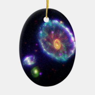 A Stellar Ripple Ceramic Ornament