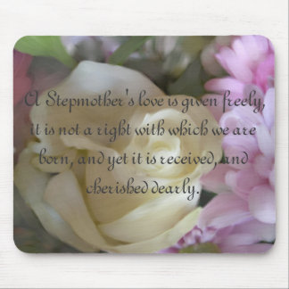 A Stepmother's love... Rose Bouquet Mouse Pad