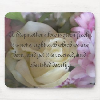 A Stepmother's love... Rose Bouquet Mouse Pad mousepad