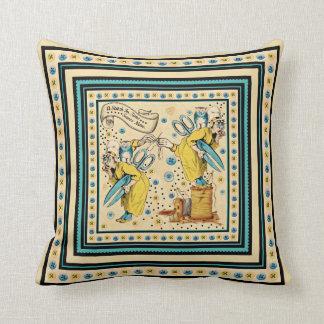 A Stich In Time Throw Pillow
