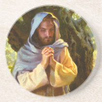 A Still and Quiet Time Stone Coaster