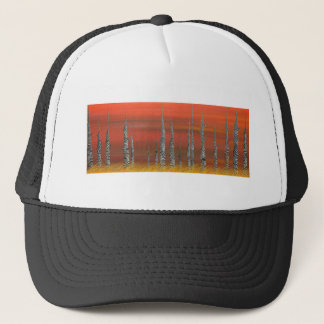 A Still Day on the Outskirts of Hades Trucker Hat