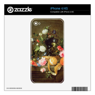 A Still Life in a Stone Niche iPhone 4S Decals