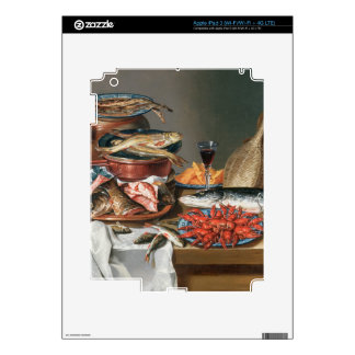 A Still Life of a Fish, Trout and Baby Lobsters, 1 iPad 3 Skin