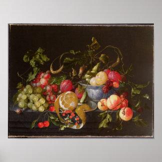 A Still Life of Fruit Poster