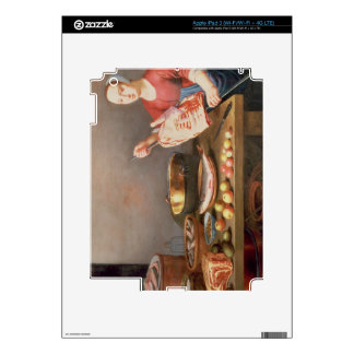 A Still Life of Meat and Fish with a Cook iPad 3 Decal