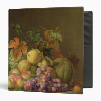 A Still Life of Melons, Grapes and Peaches Binder