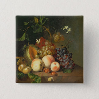A Still Life on a Marble Ledge Pinback Button