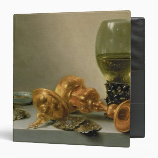 A Still Life with a Roemer and a Gilt Cup Binder