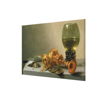 A Still Life with a Roemer and a Gilt Cup Canvas Print