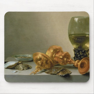 A Still Life with a Roemer and a Gilt Cup Mouse Pad