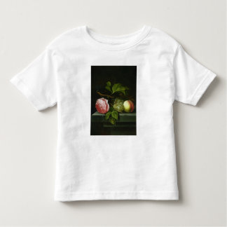 A Still Life with a Rose, Grapes and Peach T-shirt