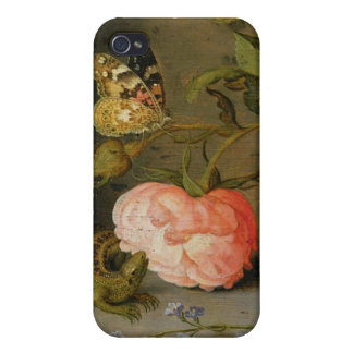 A Still Life with Roses on a Ledge Case For iPhone 4