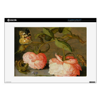 A Still Life with Roses on a Ledge Laptop Skins