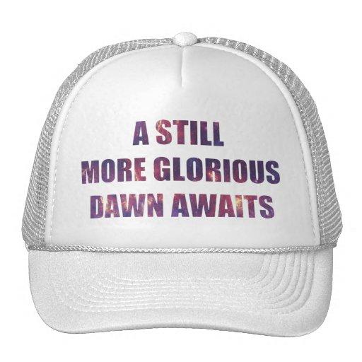 A Still More Glorious Dawn Awaits Mesh Hats
