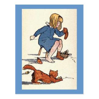 A Stitch in Time... Postcard