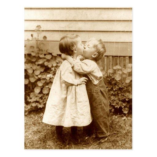A Stolen Kiss Post Cards