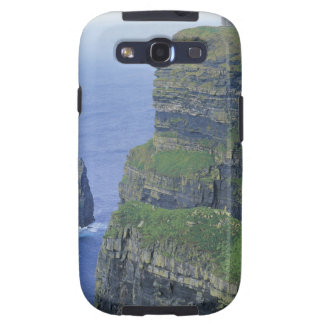 a stone castle standing on top a steep cliff in galaxy s3 covers