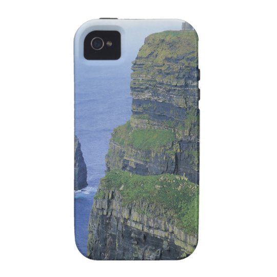 a stone castle standing on top a steep cliff in Case-Mate iPhone 4 cover