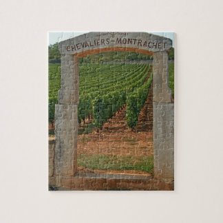 A stone portico to the vineyard jigsaw puzzle