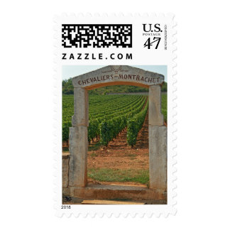 A stone portico to the vineyard postage