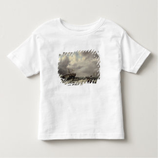 A Storm at Sea (oil on panel) T-shirt