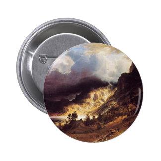 A storm in the Rock Mountains, Bierstadt Albert Button