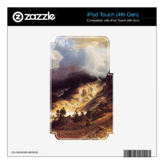 A storm in the Rock Mountains, Bierstadt Albert iPod Touch 4G Skins