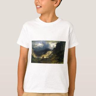 A Storm in the Rocky Mountains Bierstadt T-Shirt