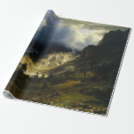 A Storm in the Rocky Mountains Bierstadt Wrapping Paper