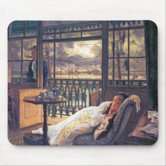 A storm moves over by James Tissot Mouse Pad