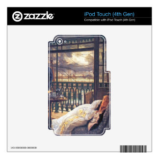 A storm moves over by James Tissot iPod Touch 4G Skin