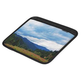 A Storm On A Valley iPad Sleeve