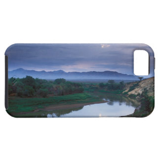 A stormy morning, with threatening clouds iPhone 5 cover