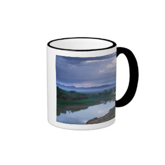 A stormy morning, with threatening clouds ringer coffee mug