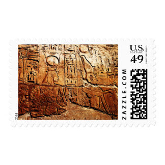 """A Story in Egypt"" JTG Art Postage Stamp"