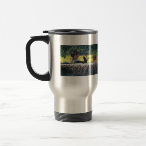 A story read by James Tissot 15 Oz Stainless Steel Travel Mug