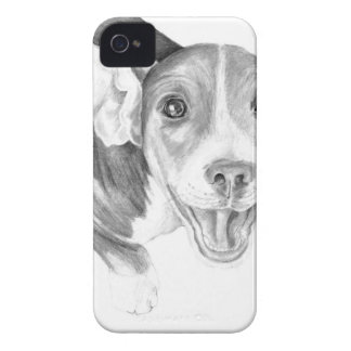 A Story To Tell, A Beagle Puppy iPhone 4 Case